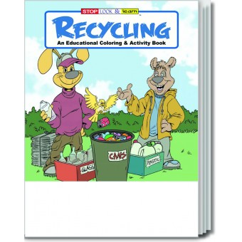 Recycling Coloring & Activity Book