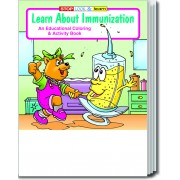 Learn About Immunization Coloring & Activity Book