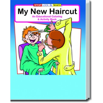 My New Haircut Coloring and Activity Book