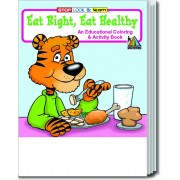 Eat Right, Eat Healthy Coloring & Activity Book