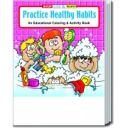 Practice Healthy Habits Coloring & Activity Book