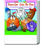 Exercise Can Be Fun Coloring & Activity Book