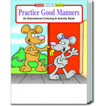 Practice Good Manners Coloring & Activity Book