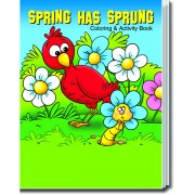 Spring Has Sprung Coloring & Activity Book