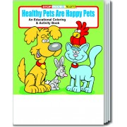 Healthy Pets are Happy Pets Coloring & Activity Book
