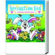 Springtime Fun Coloring & Activity Book