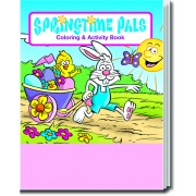 Springtime Pals Coloring & Activity Book