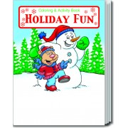 Holiday Fun Coloring & Activity Book