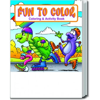 Fun To Color Coloring & Activity Book