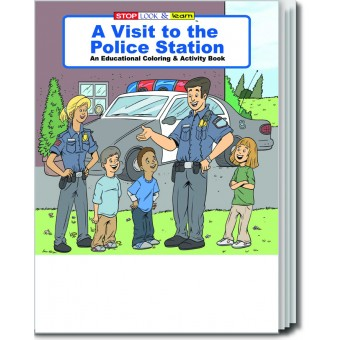 A Visit to the Police Station Coloring & Activity Book