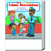 Crime Prevention Coloring & Activity Book