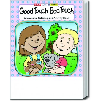 Good Touch Bad Touch Coloring & Activity Book