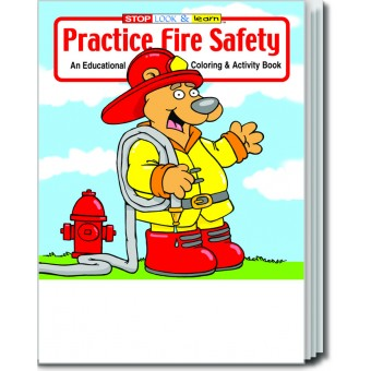Practice Fire Safety Coloring & Activity Book