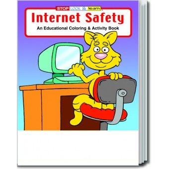 Internet Safety Coloring & Activity Book