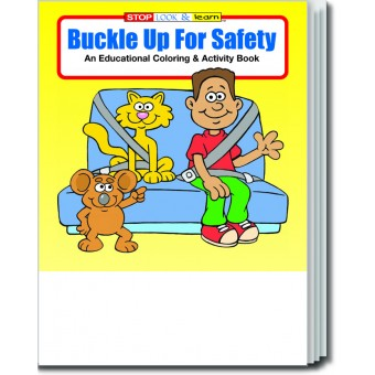 Buckle Up for Safety Coloring & Activity Book