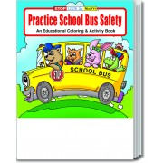 Practice School Bus Safety Coloring & Activity Book