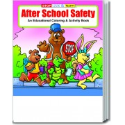After School Safety Coloring & Activity Book