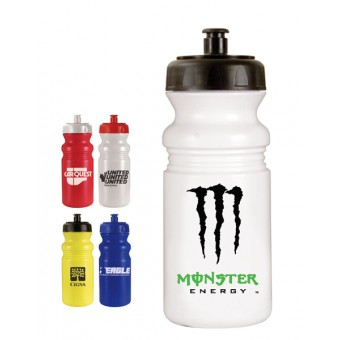 Squeeze Cycle Bottles with Pop Top 20 oz.