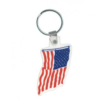 Keytags Flag Shape