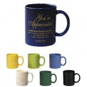 Mugs Porcelain Colors 11oz.