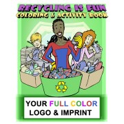Recycling Is Fun Coloring Book