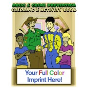 Sheriff Drug and Crime Prevention Coloring Book
