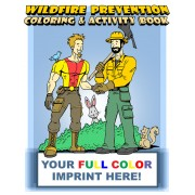Wildfire Prevention Coloring Book