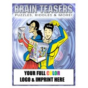 Brain Teasers Coloring Book