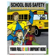 School Bus Safety Coloring Book