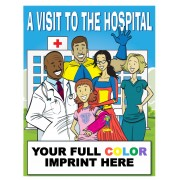 A Visit To The Hosptial Coloring Book