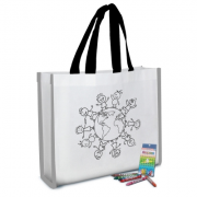 REFLECTIVE COLORING TOTE