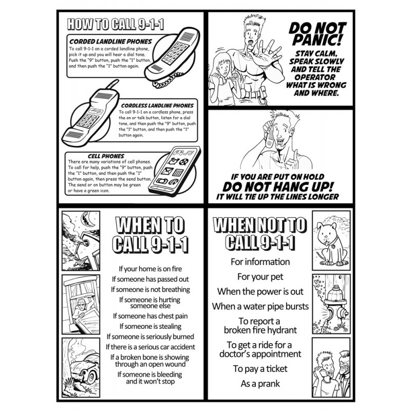 home safety coloring pages - photo #35